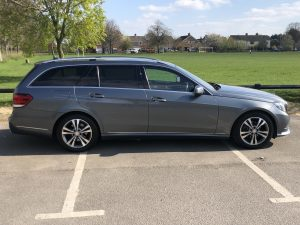 Airport transfer in UK with Mercedes Estate by Transfers 4U - Cambridge Taxis
