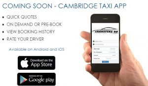 Cambridge Taxi App - Transfers 4U